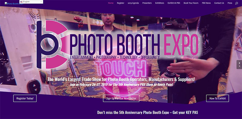 Fotomax - PXB 2019 - Présentation - Box Photo Photo booth