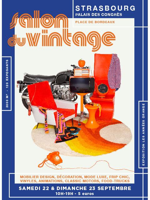 Fotomax - Affiche Salon du Vintage 2018/2019 à Strasbourg